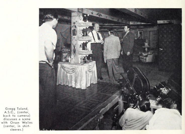 Above) A low-angle camera set-up from Citizen Kane, a film that broke ...