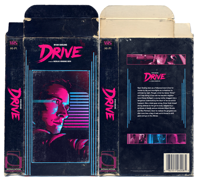 Drive VHS sleeve