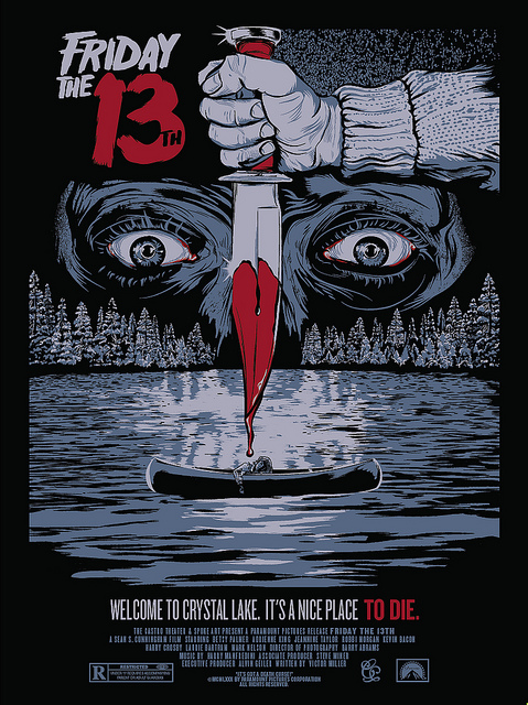 Friday the 13th poser (Christopher Cox)