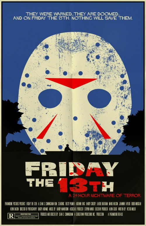 Friday the 13th poster (Mark Welser)