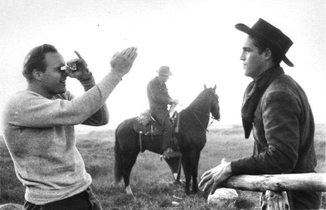 One Eyed Jacks (Million, Brando and stand-in)