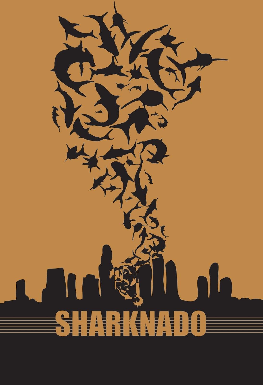 Sharknado poster Jeremy Gaulkenstei