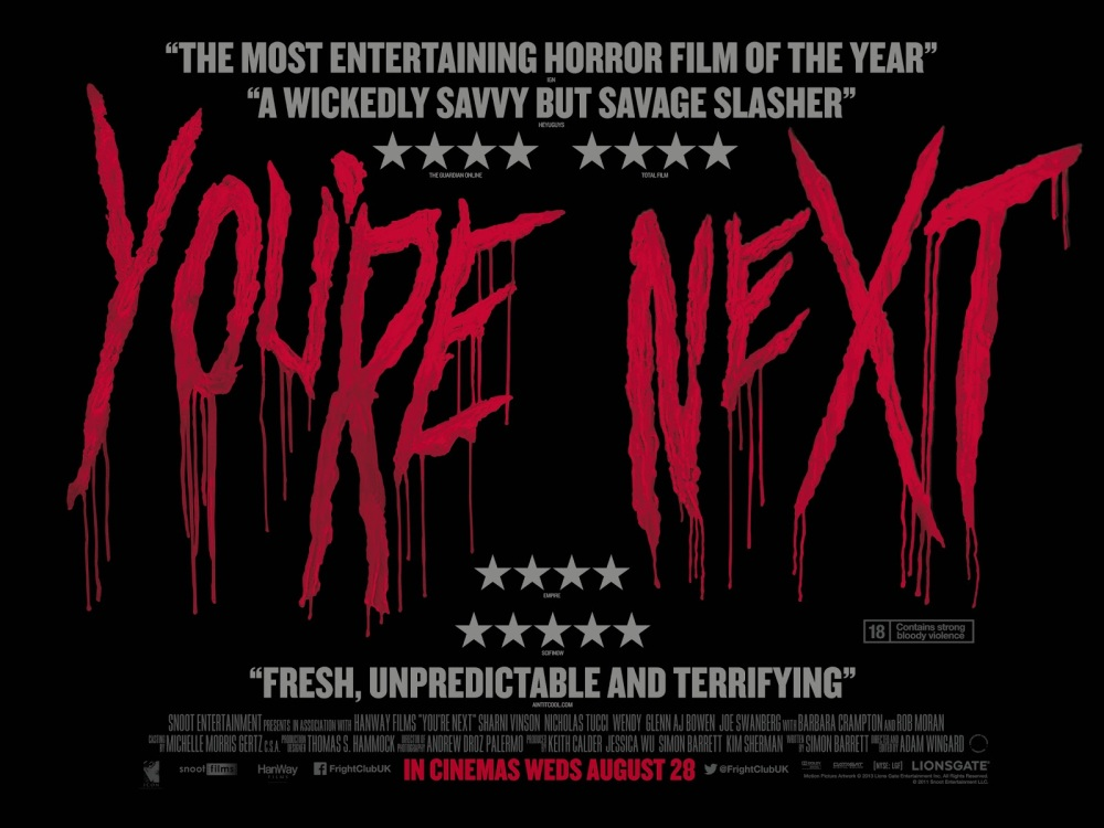 Deep Fried Interview: You're Next cinematographer Andrew Palermo ...