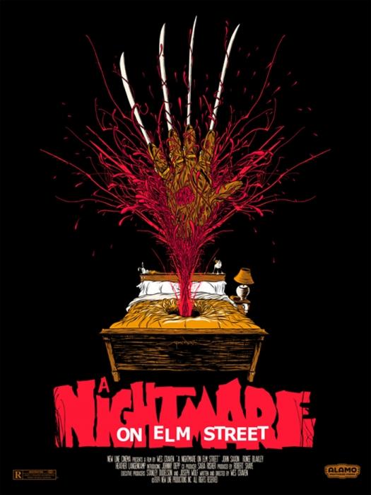 A Nightmare on Elm Street (1984) by Alex Pardee