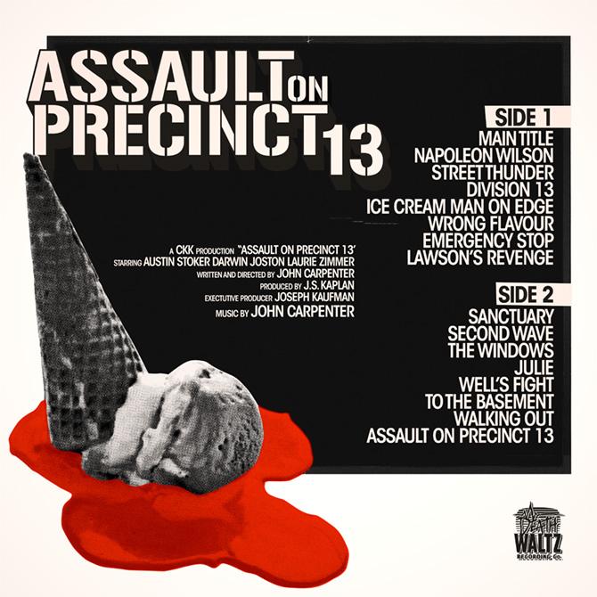 Assault on Precinct 13 (1976), vinyl soundtrack