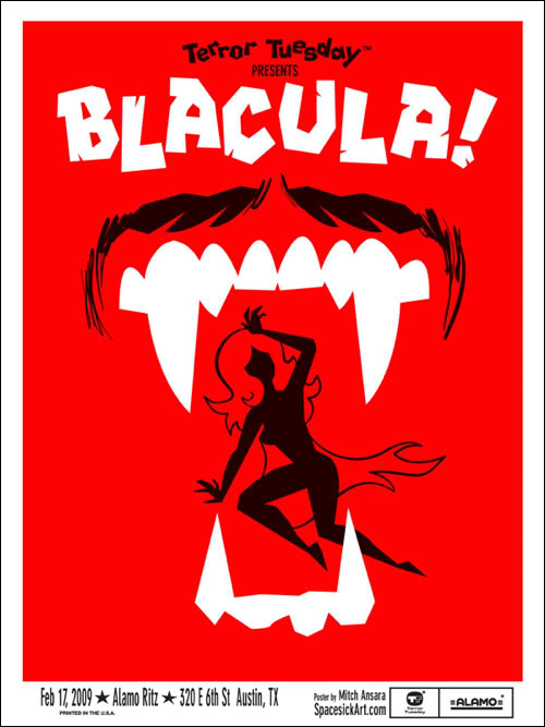 Blacula (1972) by Spacesick