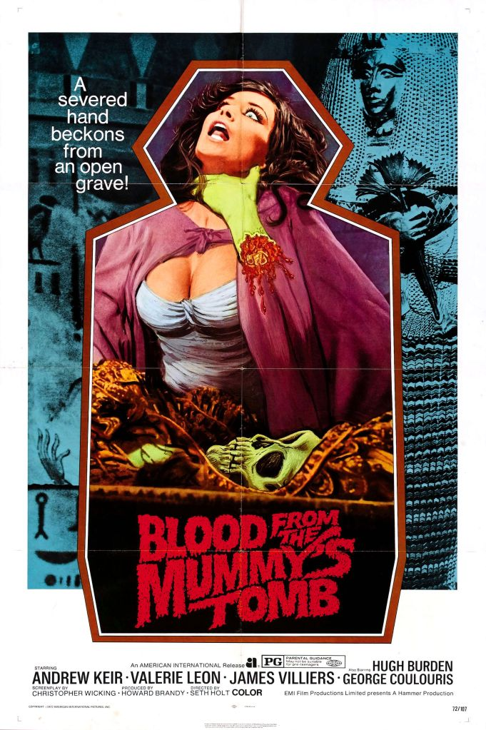Blood from the Mummy's Tomb (1970)