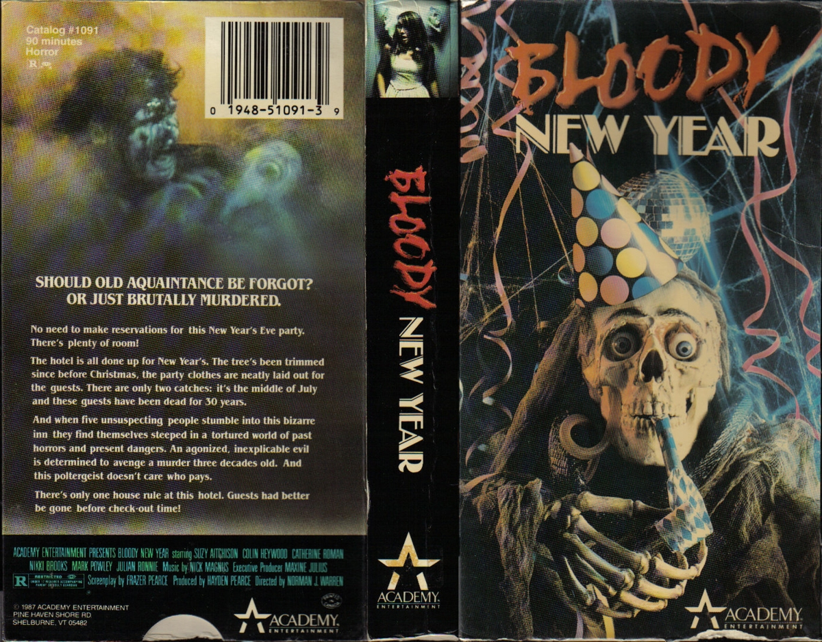 The 100 Greatest VHS Horror Covers: Part II