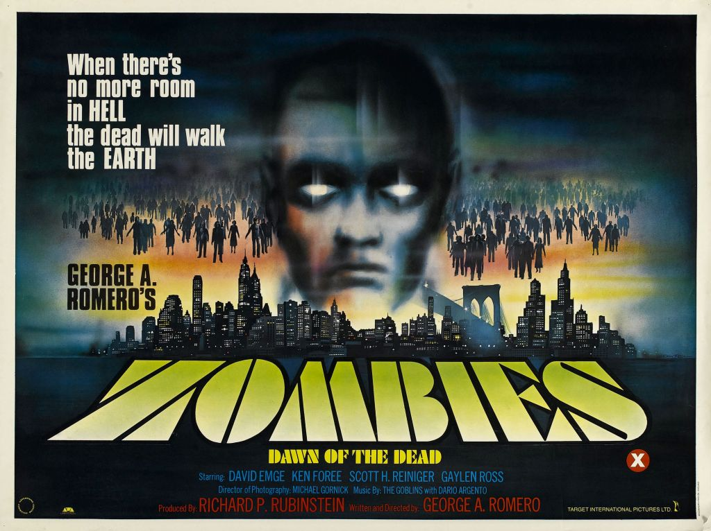 31 Days Of Horror The Posters Of George Romero Deep