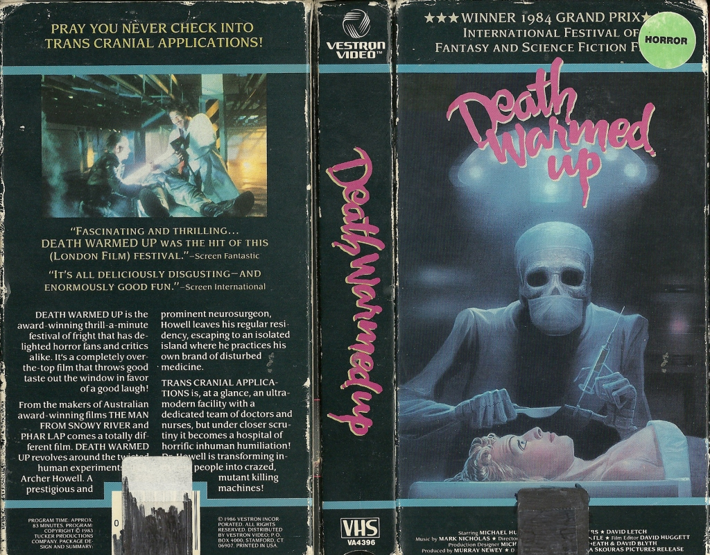 33. Death Warmed Up (1984)