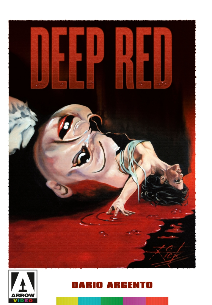 Deep Red (1975), the Arrow Video cover art
