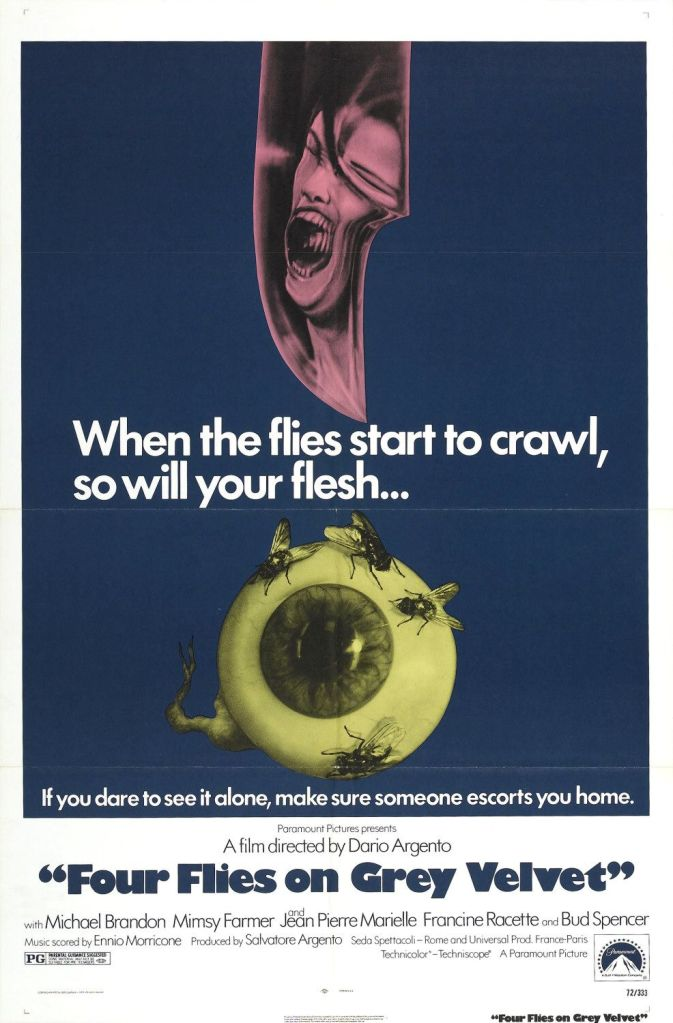Four Flies on Grey Velvet (1971)