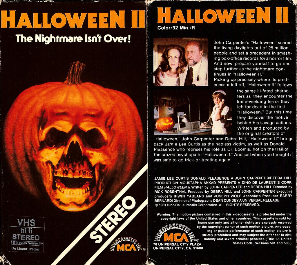 62. Halloween II (1981)