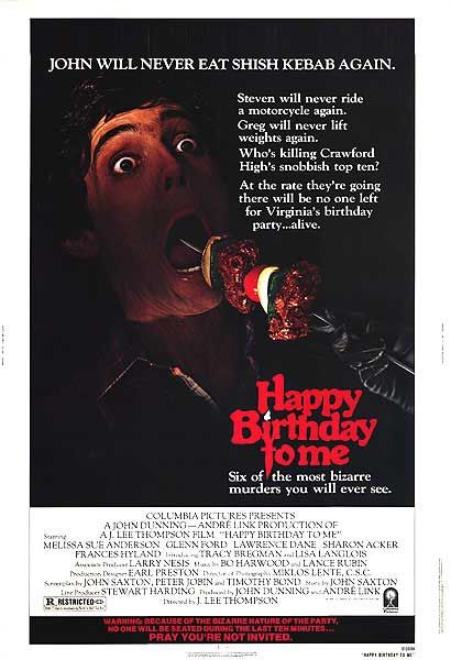 Happy Birthday to Me (1980)