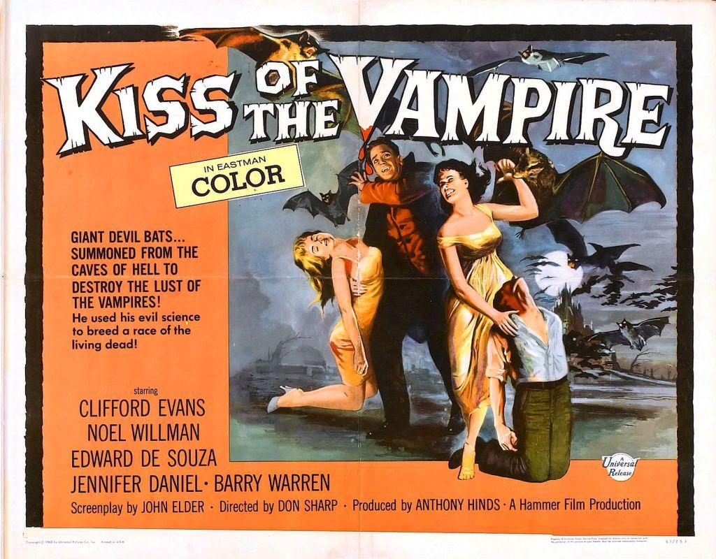 Kiss of the Vampire (1963)