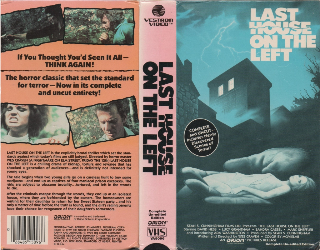 97. Last House on the Left (1972)
