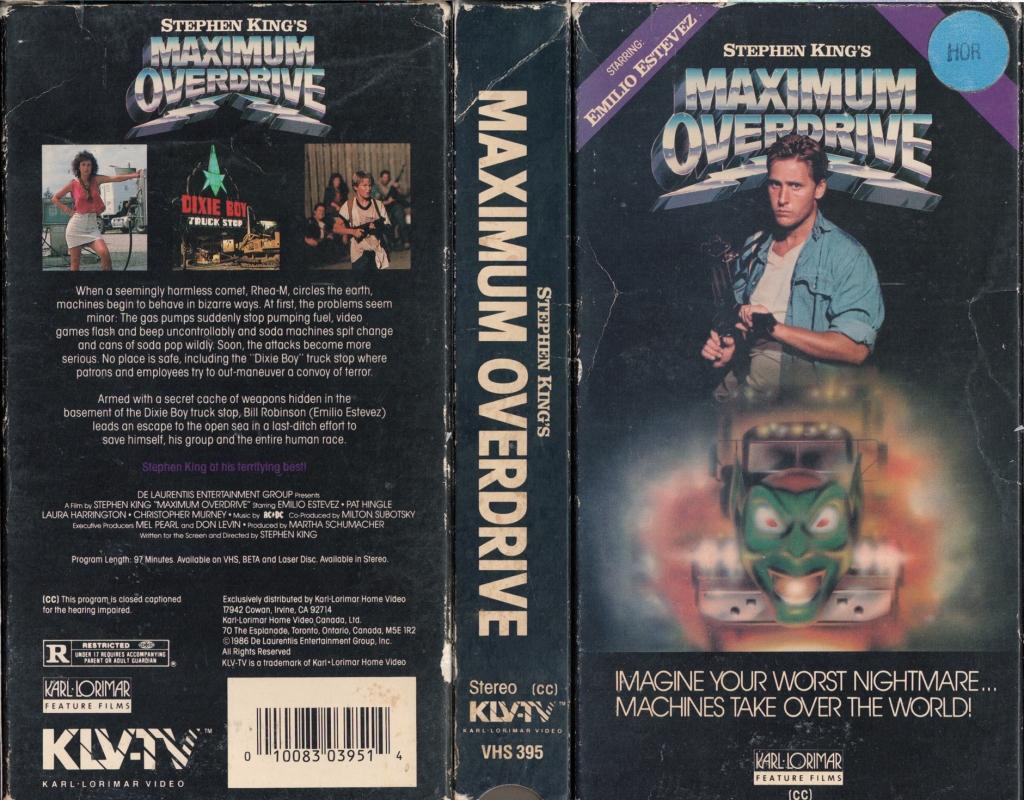 75. Maximum Overdrive (1986)