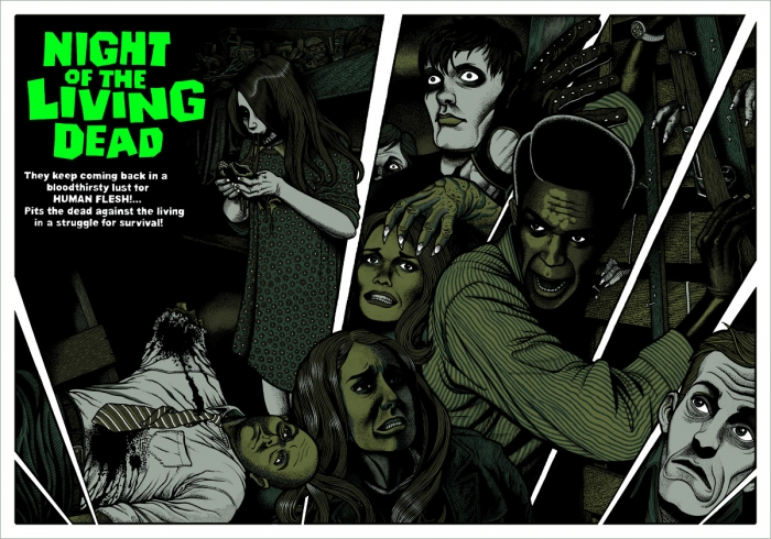 Night of the Living Dead (1968) by Florian Bertmer