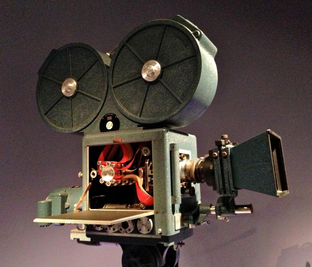 A three-strip Technicolor camera circa 1940.