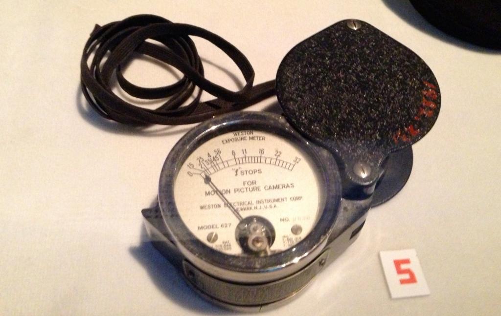 An exposure light meter circa 1934.