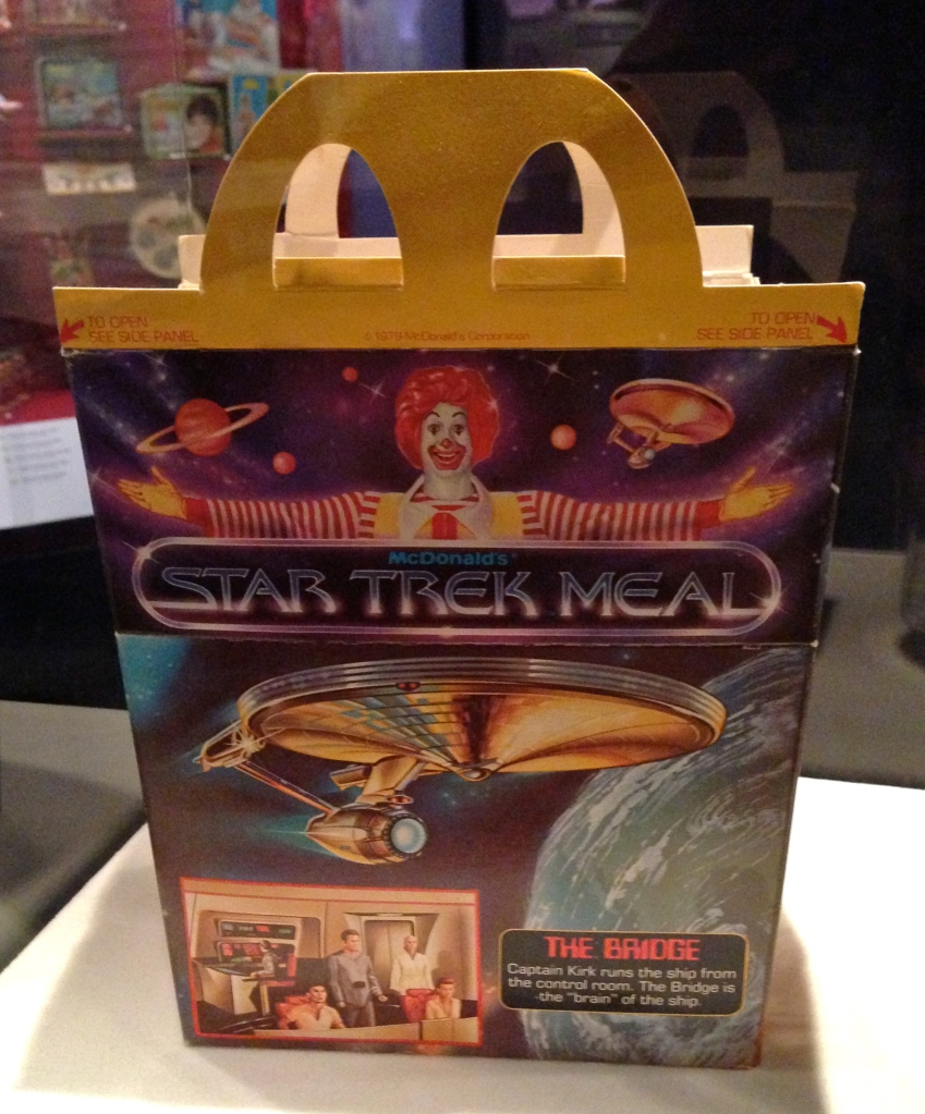 Promotional Happy Meal for Star Trek: The Motion Picture (1979).
