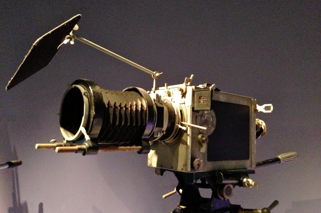 A Debrie 35mm Parvo camera, the model used on Battleship Potemkin (1925) and The Passion of Joan of Arc (1928).