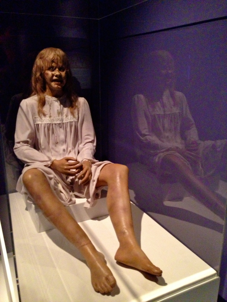 The mechanical Regan puppet created by Dick Smith for The Exorcist (1973).