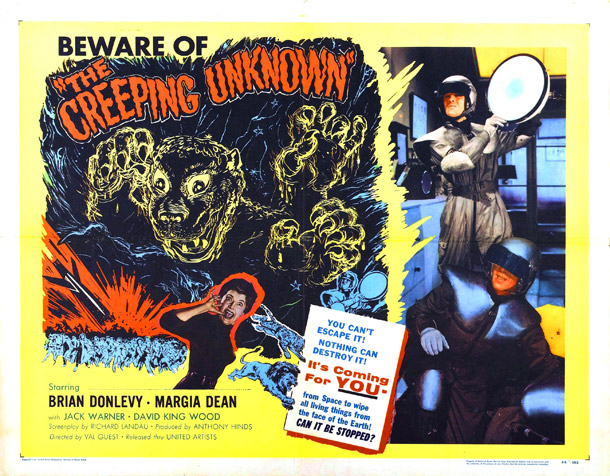 The Quartermass Xperiment (1955) (aka The Creeping Unknown)