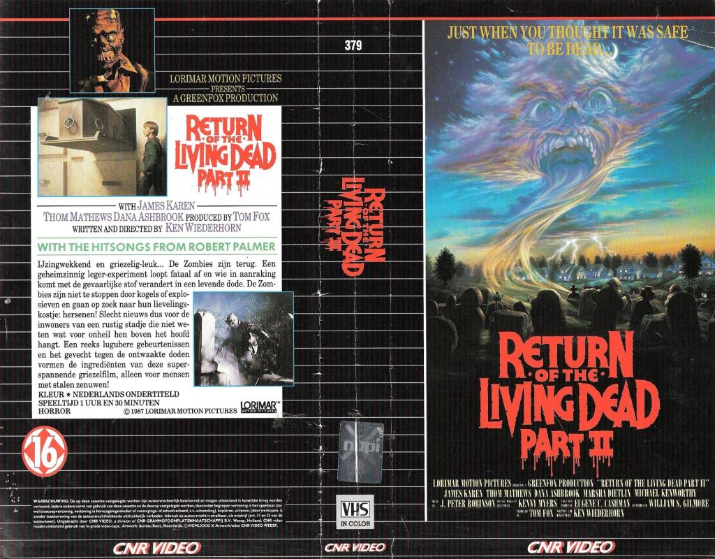 89. Return of the Living Dead Part II (1988)