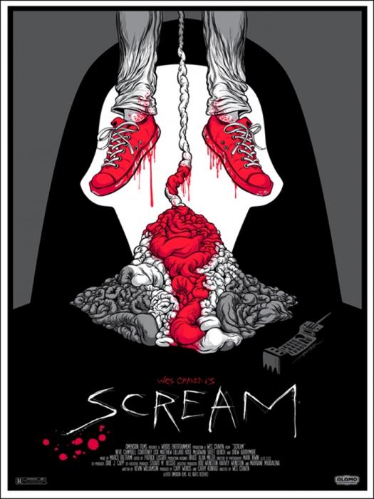 Scream (1996) by Alex Pardee