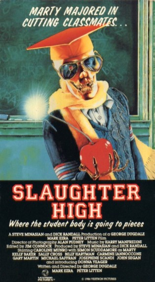 86. Slaughter High (1986)