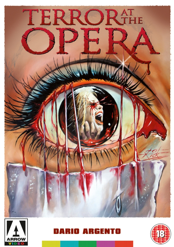Opera (1987), the Arrow Video cover