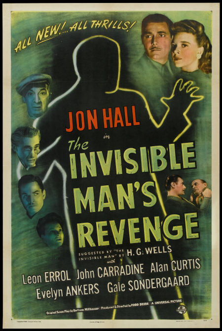 The Invisible Man's Revenge (1944)