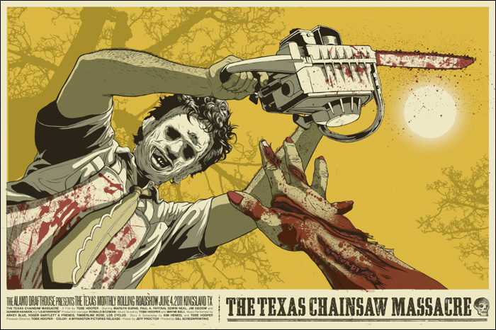 The Texas Chain Saw Massacre (1974) by Jeff Proctor