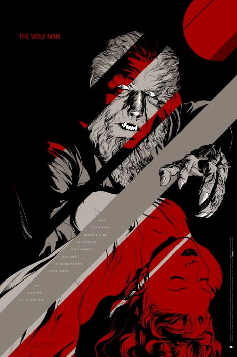 The Wolf Man (1941) by Martin Ansin