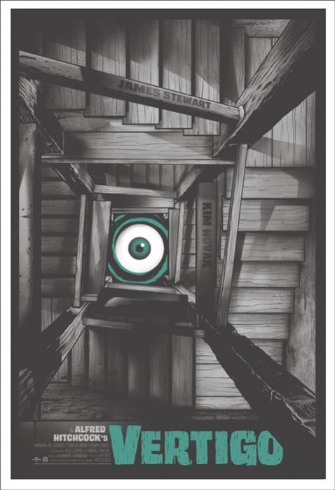 Vertigo (1958) by Ghoulish Gary Pullin