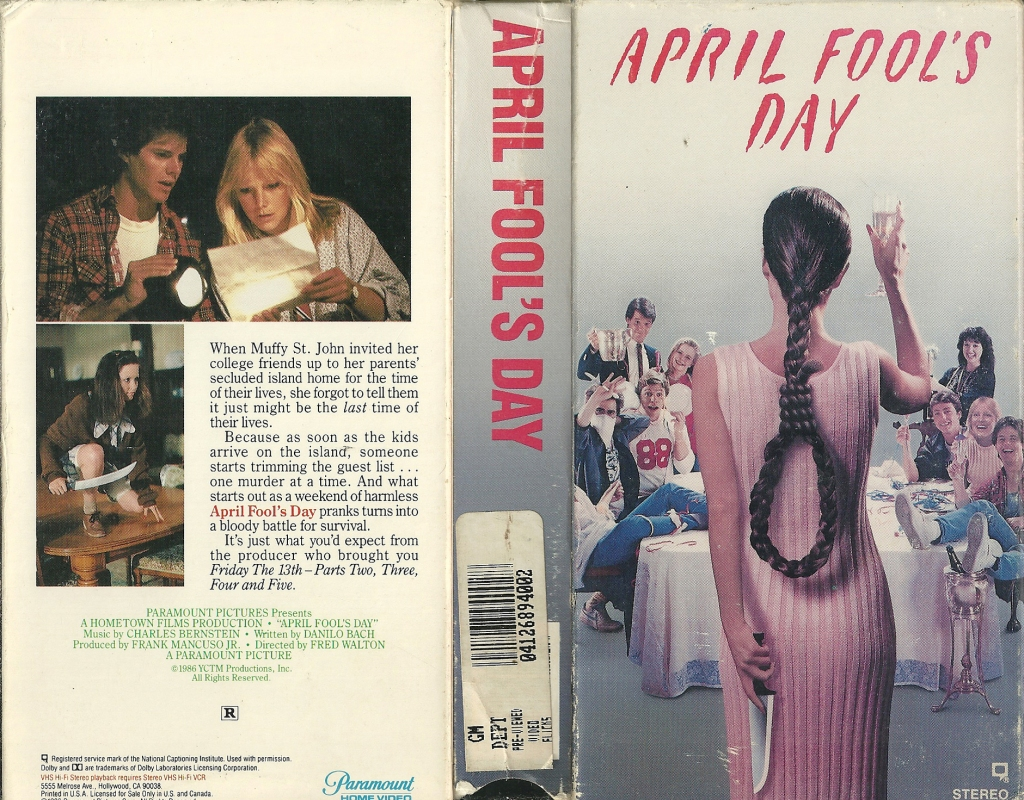44. April Fool's Day (1986)