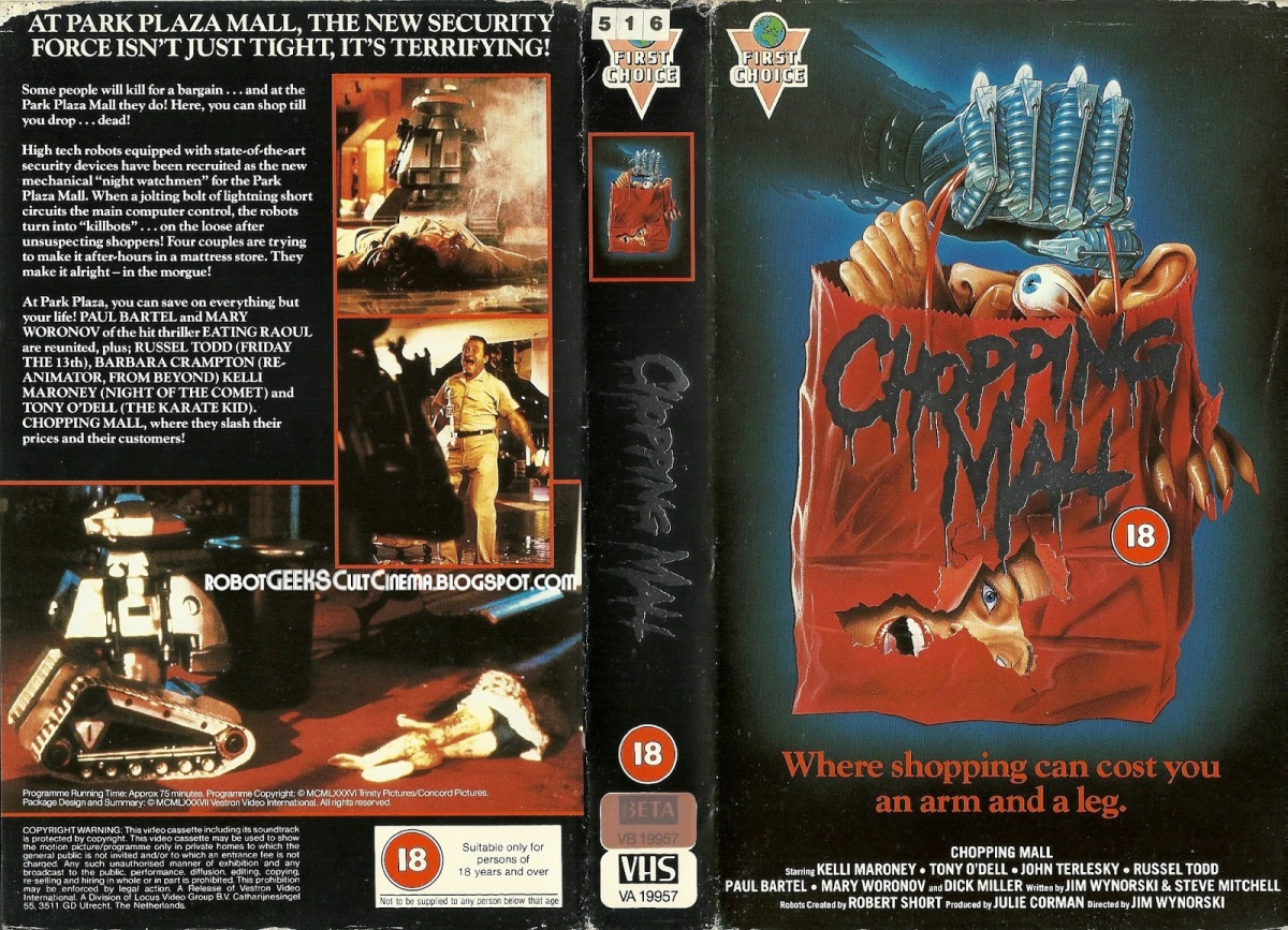 The 100 Greatest VHS Horror Covers: Part I