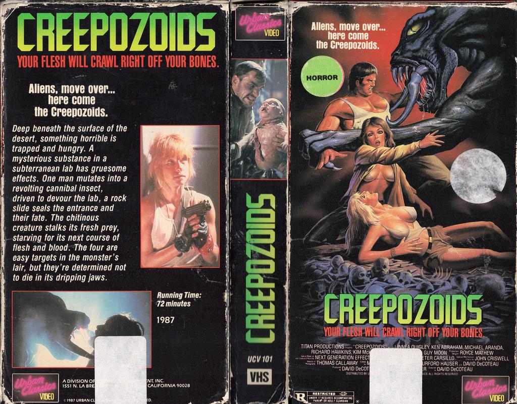 60. Creepozoids (1987)