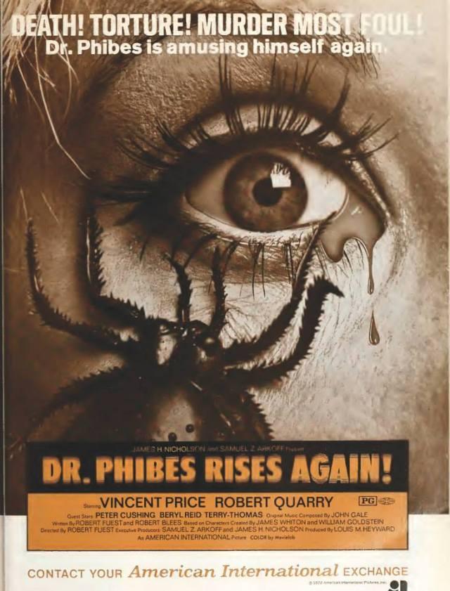Dr. Phibes Rides Again!