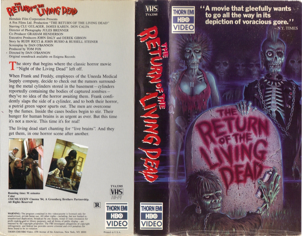 4. The Return of the Living Dead (1985)