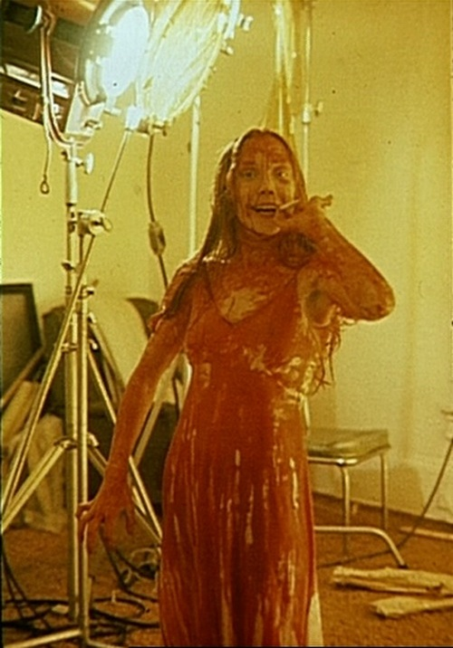 Carrie Behind the Scenes Still