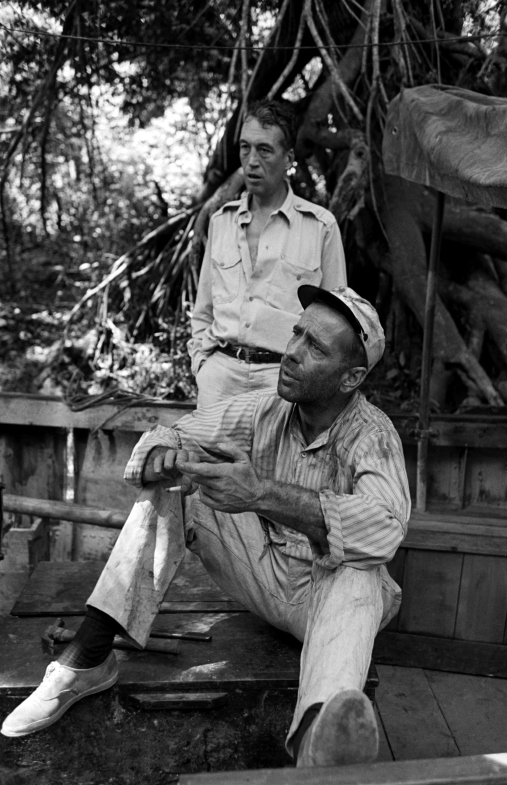 Bogart and Huston.