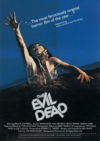 17. The Evil Dead (1981)