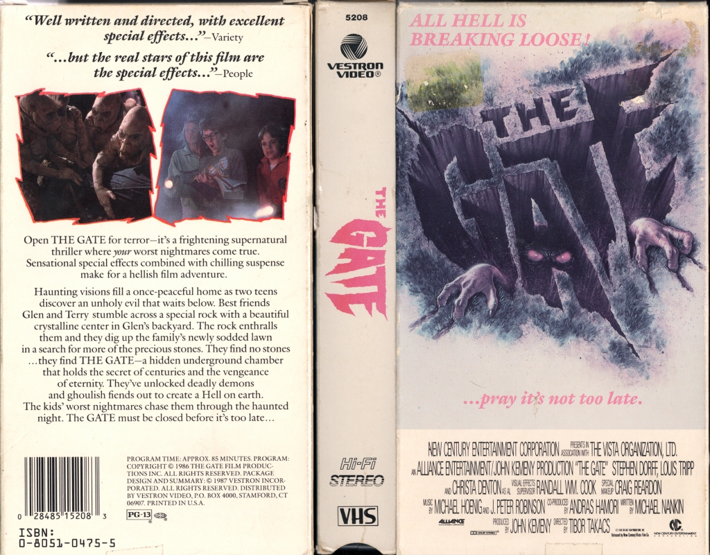 20. The Gate (1987)
