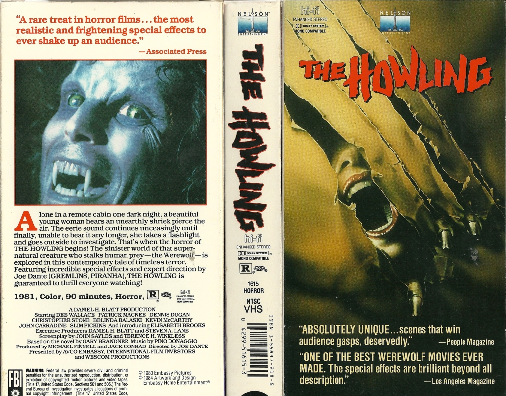 2. The Howling (1981)
