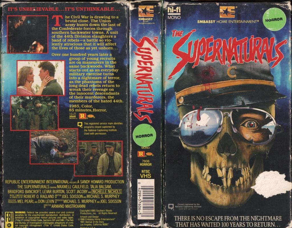 52. The Supernaturals (1986)