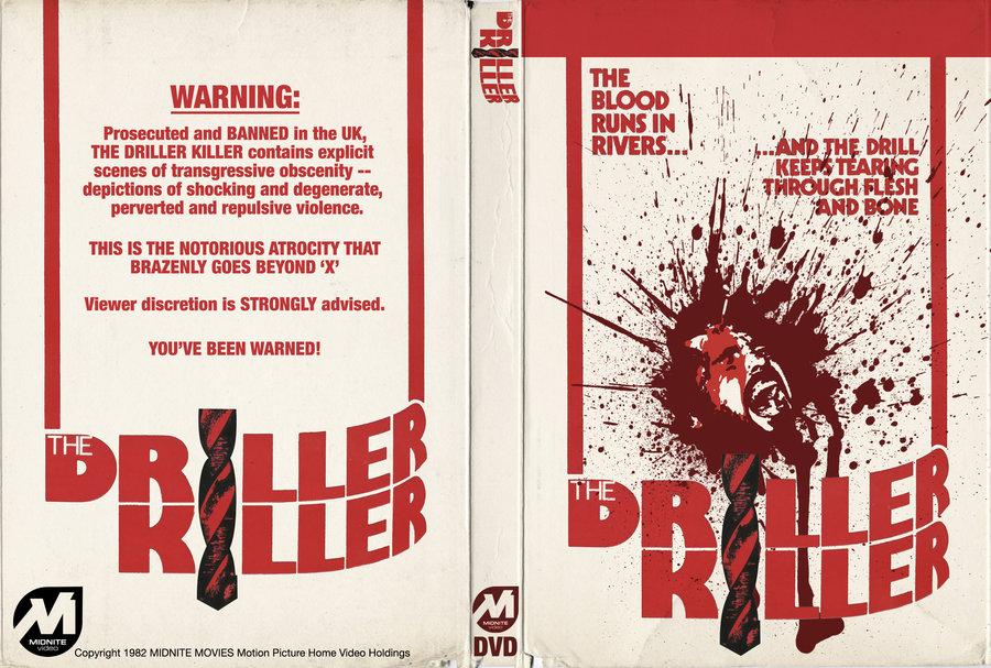 Driller Killer DVD #2