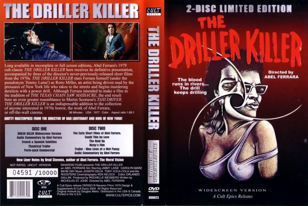 Driller Killer DVD