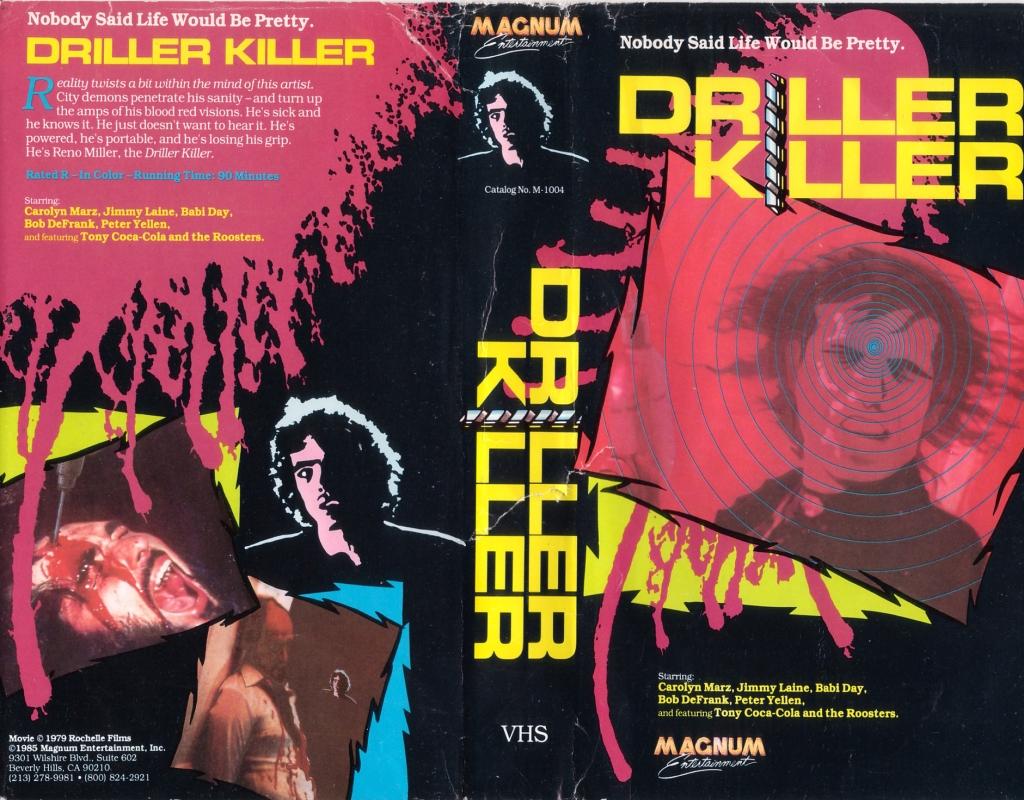 Driller Killer VHS #3